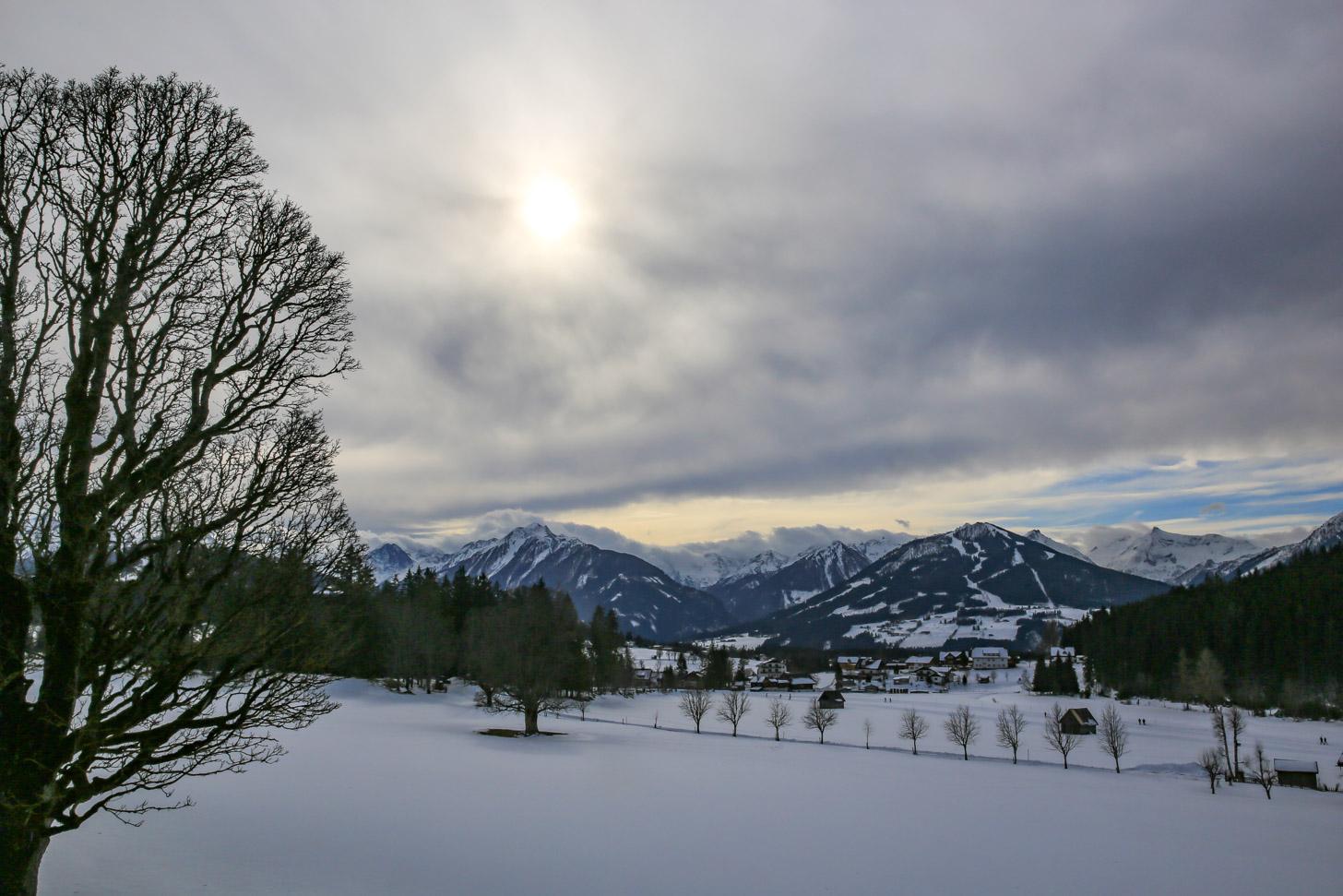 Sneeuw in de winter