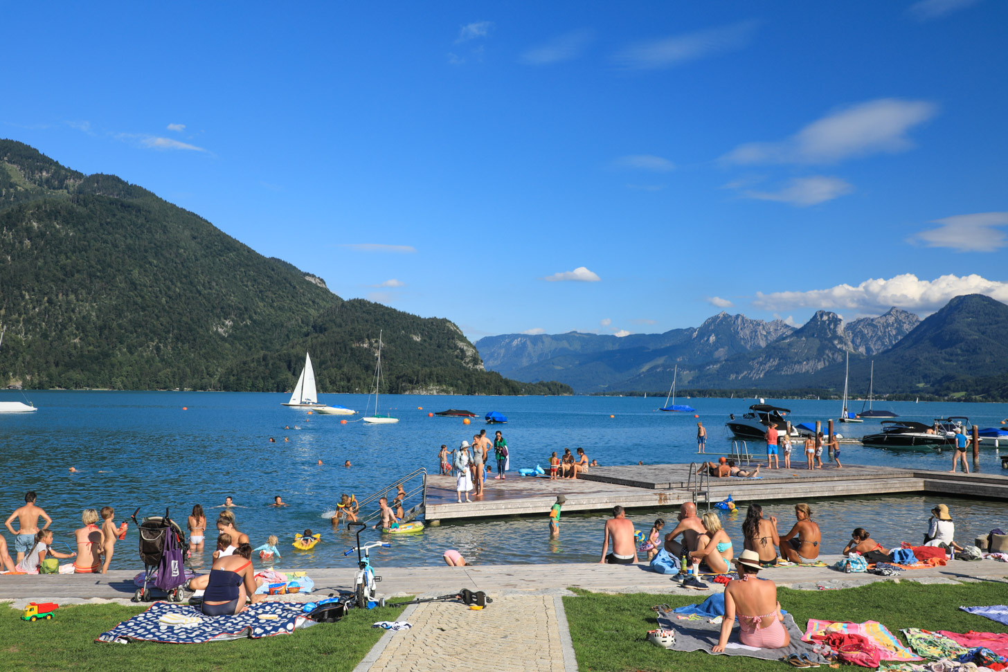 De zomer kan heerlijk in Oostenrijk.