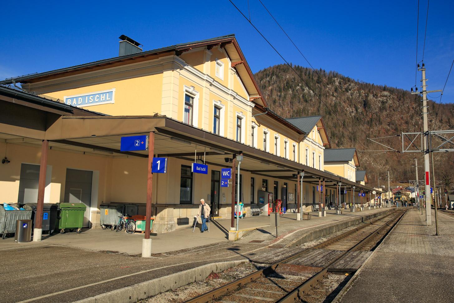 Met de trein naar Oostenrijk reizen